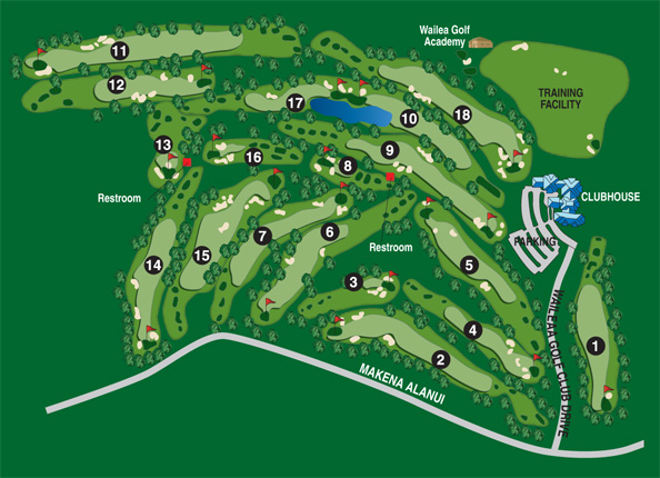 Emerald Course Map