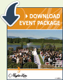 Download our Wedding Package